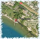 Location Vidy Lausanne - plan